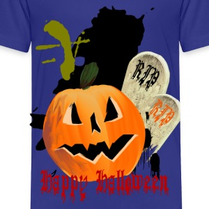 Jack-O-Lantern and Graves - Toddler Premium T-Shirt