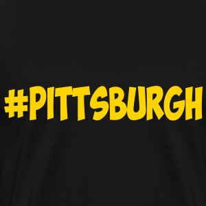 #Pittsburgh T-Shirts - Men's Premium T-Shirt