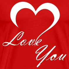 Red Love You T-Shirts