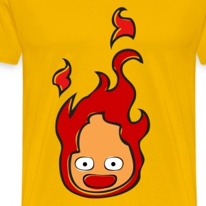 calcifer shirt men - Men's Premium T-Shirt