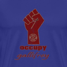 Occupy Gallifrey - Doctor Who | Robot Plunger T-Sh