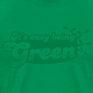 It's EASY being GREEN T-Shirts - Men's Premium T-Shirt