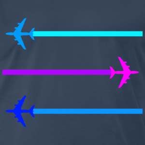 blue skies  - Men's Premium T-Shirt