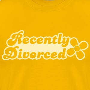 recently divorcee divorced T-Shirts - Men's Premium T-Shirt