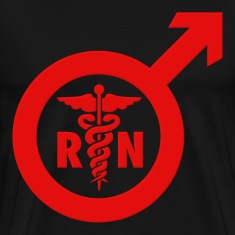 Murse Male Nurse Symbol T-Shirts