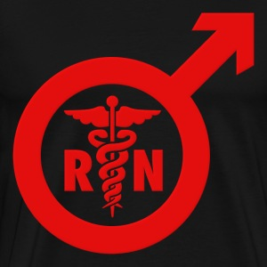 Nurse Shirt - Murse Male Nurse Symbol T-Shirts - Men's Premium T-Shirt