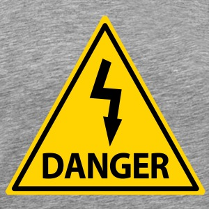 danger T-Shirts - Men's Premium T-Shirt