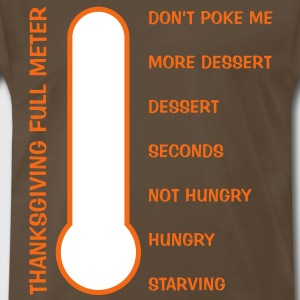 Thanksgiving Full Meter T-Shirts - Men's Premium T-Shirt