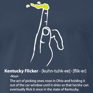 Kentucky Flicker T-Shirts - Men's Premium T-Shirt