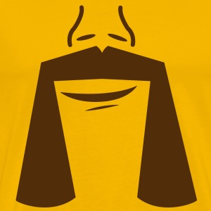 HANDLE BAR MOUSTACHE T-Shirts - Men's Premium T-Shirt