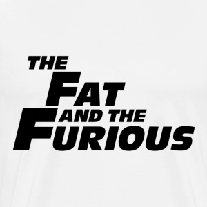 The Fat and the Furious T-Shirts - Men's Premium T-Shirt