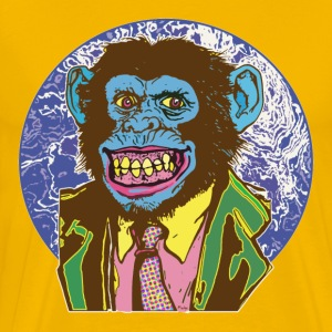 Psychadelic Chimp Big Dot - Men's Premium T-Shirt