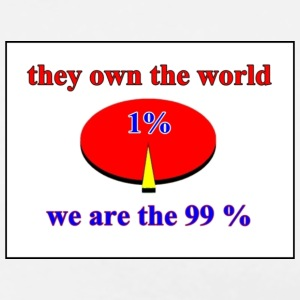 we are the 99% percent - occupy wallstreet - Men's Premium T-Shirt