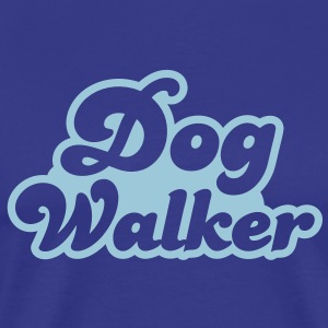 DOG Walker T-Shirts - Men's Premium T-Shirt