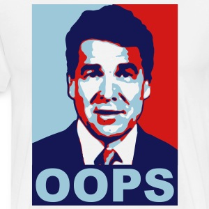 Rick Perry Oops - Men's Premium T-Shirt