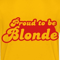 Proud to be Blonde Kids' Shirts