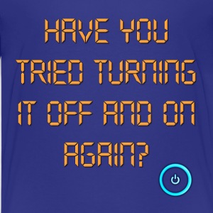 The IT Crowd Have You Tried Turning It Off And On  Kids' Shirts - Kids' Premium T-Shirt