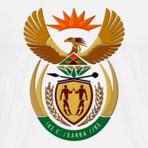 South Africa Coat of Arms T-Shirts - Men's Premium T-Shirt