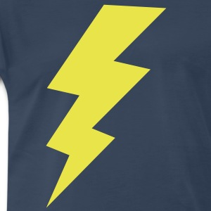 blitz thunder storm flash T-Shirts - Men's Premium T-Shirt