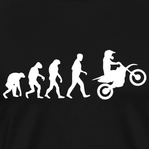 motocross evolution T-Shirts - Men's Premium T-Shirt