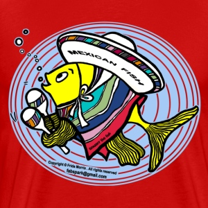 Mexican Fish - Men's Premium T-Shirt