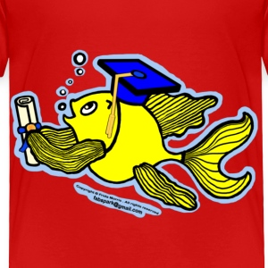 Graduation Fish Graduate - Toddler Premium T-Shirt