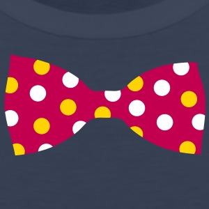A bow tie with dots T-Shirts - Men's Premium Tank