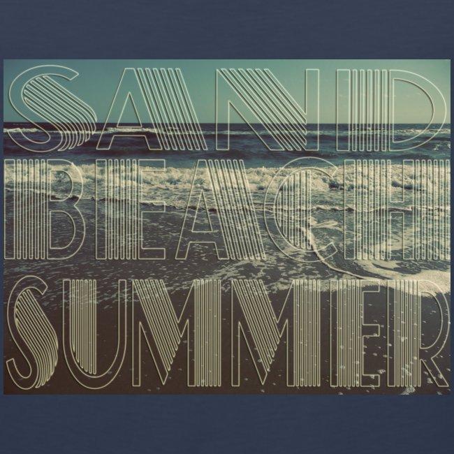 Sand, Beach, Summer Tank