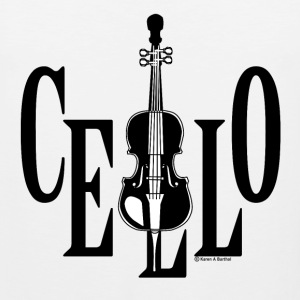 Cello In Cello T-Shirts - Men's Premium Tank