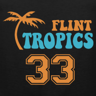 Design ~ FLINT TROPICS Jersey Tan Top