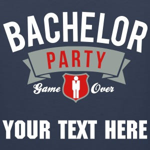 bachelor party T-Shirts - Men's Premium Tank