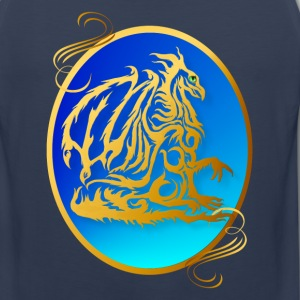 Gold Dragon 3 - Men's Premium Tank