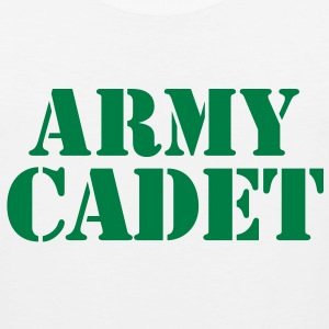 army cadet in stencil T-Shirts - Men's Premium Tank