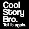 Cool Story Bro Tell It Again White Design Funny Tanktop Sleeveless Shirt - Men's Premium Tank
