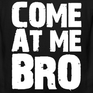 Come At Me Bro Jersey Shore Funny Tanktop Sleeveless Shirt - Men's Premium Tank