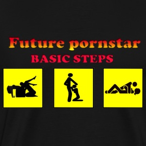 future pornstar - Men's Premium T-Shirt