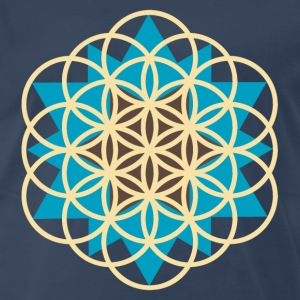 flower of life star T-Shirts - Men's Premium T-Shirt
