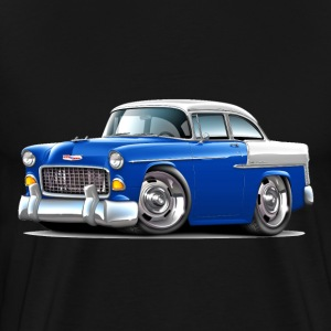 1955 Chevy Belair Blue Car - Men's Premium T-Shirt