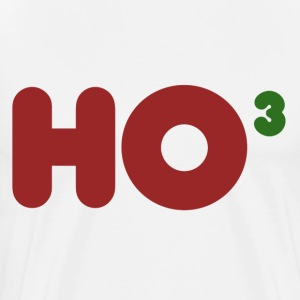 Ho Ho Ho Math Geek Xmas - Men's Premium T-Shirt