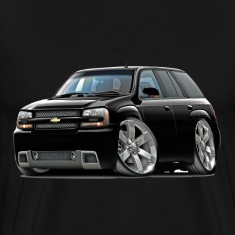Chevy Trailblazer SS Black Truck