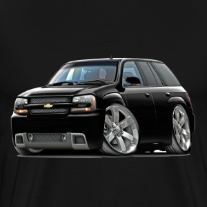 Chevy Trailblazer SS Black Truck - Men's Premium T-Shirt