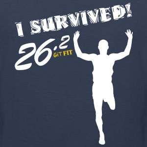 Men's Full Marathon · I Survived! T-Shirts - Men's Premium Tank