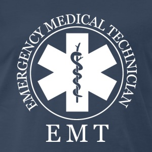 EMT Fire fighter - Men's Premium T-Shirt