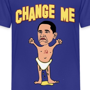 Obama Change Me Baby Kids' Shirts - Kids' Premium T-Shirt