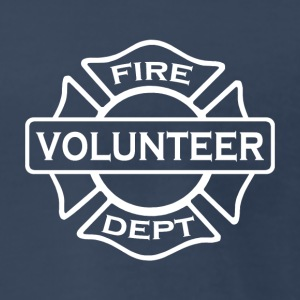 Volunteer fire fighter 2 side - Men's Premium T-Shirt