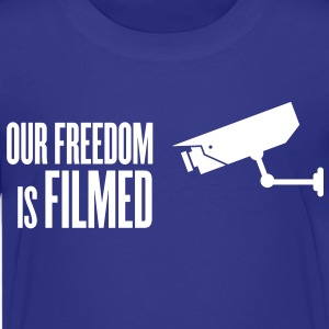 our freedom is filmed Kids' Shirts - Kids' Premium T-Shirt