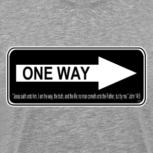 One Way by GP Wear T-Shirts - Men's Premium T-Shirt