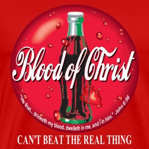 """Blood of Christ"" by GP Wear T-Shirts - Men's Premium T-Shirt"