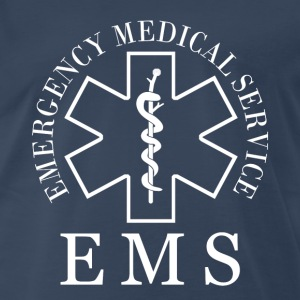 EMS Fire department - Men's Premium T-Shirt