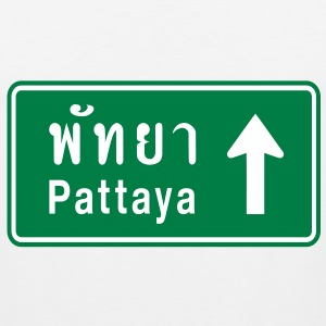 Pattaya, Thailand / Highway Road Traffic Sign - Men's Premium Tank